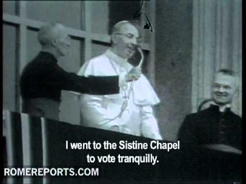 32 years ago  first words of Pope John Paul I