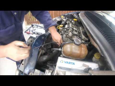 Как снять передний радиатор chrysler voyager 2.5 crd/How to remove the front radiator