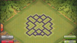getlinkyoutube.com-تصميم تاون هول لفل 7 | تصميم لحفظ الموارد + تصميم لحفظ الكؤوس + تصميم لحرب الكلانات