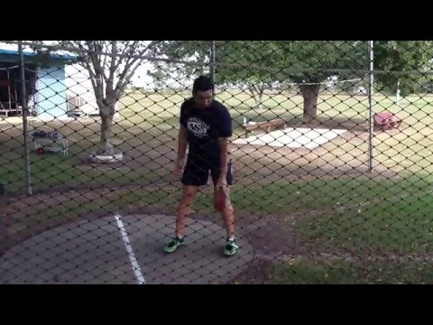 Discus standing throw