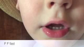 4歳のアメリカ人の子供の英語ききとれる?