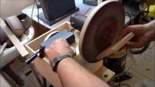 getlinkyoutube.com-Home Made Disc Sander