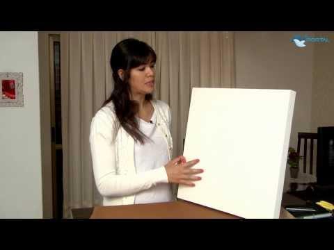 Simplesmente Amigas | Dica de Decoração: quadros com tecido