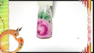 getlinkyoutube.com-modelinho flor para decoração de unhas