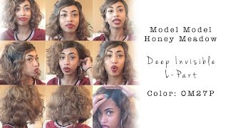 getlinkyoutube.com-Model Model Honey Meadow Wig Review! Color : OM27P
