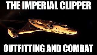 getlinkyoutube.com-Elite: Dangerous - The Imperial Clipper | Outfitting And Combat