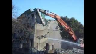 getlinkyoutube.com-Apartment Demolition #4 ( アパートの解体 )
