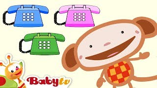 getlinkyoutube.com-Oliver Phone | BabyTV