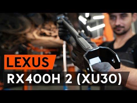 Как заменить задний рычаг подвески LEXUS RX400h 2 (XU30) (ВИДЕОУРОК AUTODOC)