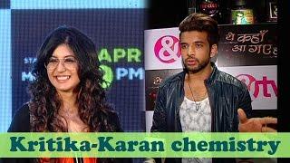 "getlinkyoutube.com-""More than Arjun Arohi it was Karan Kritika's chemistry charm"" Karan Kundra"