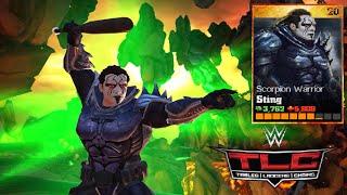 getlinkyoutube.com-WWE Immortals - Scorpion Warrior Sting Level 1 2 3 Super Finishers