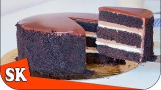 CHOCOLATE ESPRESSO LAYER CAKE - Devils Food Cake