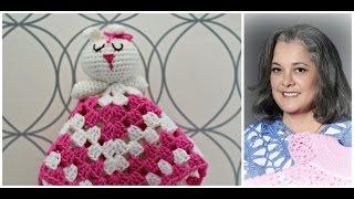 getlinkyoutube.com-How to Crochet bunny blankie lovie - Part 2 (substitulos en Español)