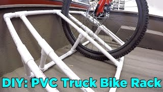 getlinkyoutube.com-How to Build a PVC Truck Bed Bike Rack for $25