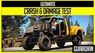 getlinkyoutube.com-GTA V - Ultimate Crash and Damage Test - Guardian ( GTA 5 PC Editor )