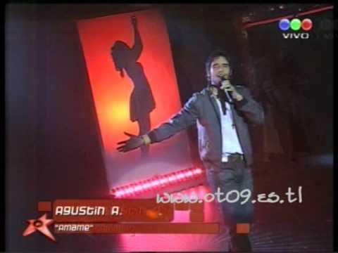 Amame de Agustin Arguello Letra y Video