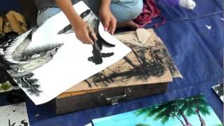 getlinkyoutube.com-طفل رسام محترف !!