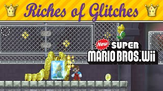 getlinkyoutube.com-Riches of Glitches in New Super Mario Bros. Wii (Glitch Compilation)