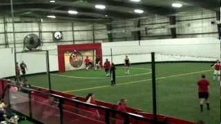 getlinkyoutube.com-Indoor Soccer Goaltender Saves