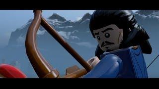 getlinkyoutube.com-LEGO The Hobbit - All Cutscenes