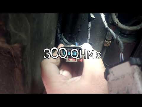 Chrysler Grand Voyager Fuel Sensor Fault