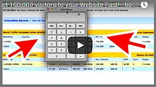 getlinkyoutube.com-Get 100,000 visitors to your Website Fast! - how to drive traffic to your website 2017