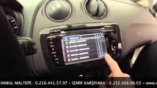 getlinkyoutube.com-Seat İbiza Navigasyon DVD Multimedya Montajı