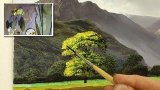 getlinkyoutube.com-#46 painting a tree tutorial