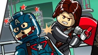 getlinkyoutube.com-LEGO Marvel's Avengers Walkthrough - Lack of Insight (Captain America: Winter Soldier Bonus Level)