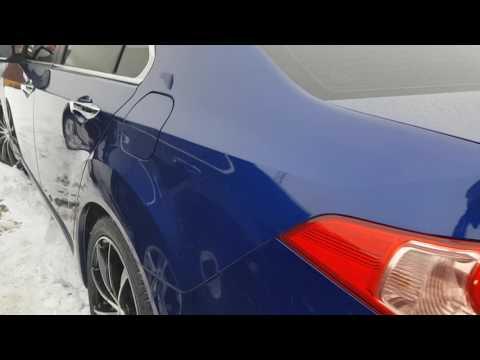 Керамическое покрытие Royal Ceramic 2 слоя на Honda Accord 8