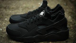 getlinkyoutube.com-Посылка из Китая. Aliexpress (replica) Nike Huarache (Triple Black).