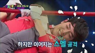 getlinkyoutube.com-【TVPP】Seo Kang Jun - Kang Jun VS Jae Young, 서강준 - 철봉 씨름~ 서강준 VS 김재영 @ Match Made in Heaven Returns