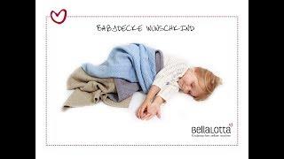getlinkyoutube.com-Babydecke einfach stricken - mit BellaLotta