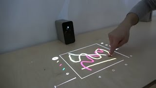 """Sony Xperia Touch, projector turns any table or wall into a 23"""" Android tablet"""
