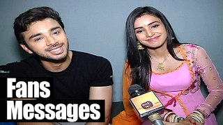 getlinkyoutube.com-Samridh and Ankita get some MESSAGES from Fans