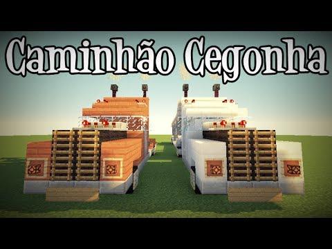 Tutoriais Minecraft: Como Construir Um Caminhão Cegonha!