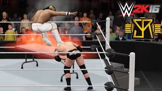 getlinkyoutube.com-WWE 2K16 Top 5 Extreme Curb Stomps feat. Seth Rollins (PS4)