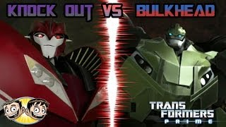 getlinkyoutube.com-Transformers Prime: The Game - FINAL ROUND - Knock Out Vs. Bulkhead - BroBrahs