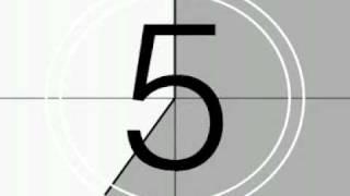 cuenta regresiva 8 7 6 5 4 3 2 1 / Countdown