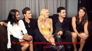 getlinkyoutube.com-The Vampire Diaries Intervista Settima Stagione SUB ITA