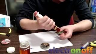 getlinkyoutube.com-Чем лучше паять канифолью или флюсом: полезное видео от Интернет-магазина Electronoff