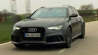 getlinkyoutube.com-NEU: Audi RS 6 Avant - Testfahrt