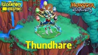 getlinkyoutube.com-Monster Legends - How To Get Thundhare (Legendary) + Combat