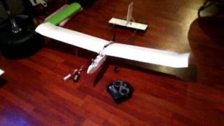 getlinkyoutube.com-RC Drone Plane Build Video