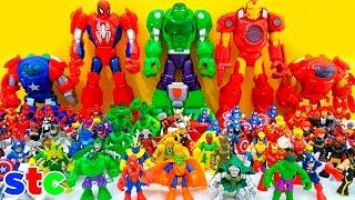 getlinkyoutube.com-Playskool Heroes Super Hero Adventures Collection