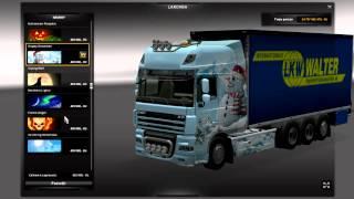 getlinkyoutube.com-Euro Truck Simulator 2 DAF XF Tandem + Trailer