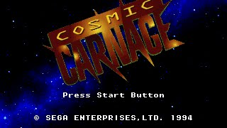 getlinkyoutube.com-Sega 32X Longplay [003] Cosmic Carnage - Cyber Brawl