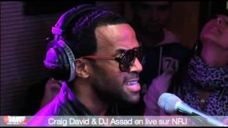 Craig David & DJ Assad en live sur NRJ - C'Cauet sur NRJ