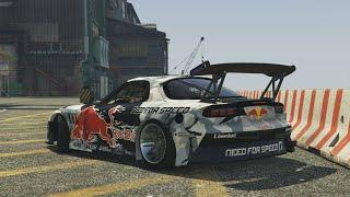 "getlinkyoutube.com-GTA 5 - ""THE IMPORT"" Drift Montage (Mazda RX7)"