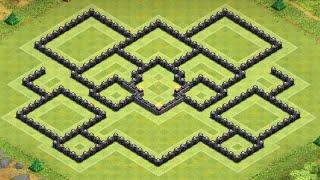 getlinkyoutube.com-Base Showcase: Electrodome TH9 Farming Base - Clash of Clans